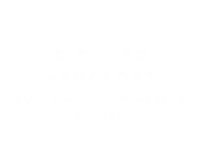 Richard Ashcroft | Branding, artwork + website (MUSIC)